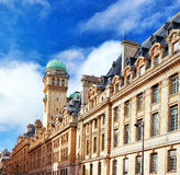 Sorbonne or University of Paris in Paris. France stock photo