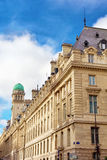 Sorbonne or University of Paris in Paris. France stock image