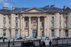 Sorbonne Univesity Paris France Royalty Free Stock Photos