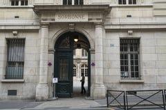 Sorbonne uniwersytet w Paryż zdjęcia royalty free