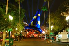 Sorcerer's Hat. In Hollywood Studios, Orlando Royalty Free Stock Photo
