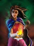 Sorceress Lizenzfreies Stockfoto