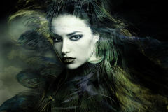 Sorceress arkivbild
