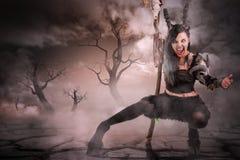 Sorceress Royaltyfri Foto