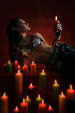 Sorceress Stock Photography