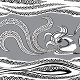 Sorceress. Seamless pattern. Vector illustration Stock Photos