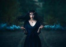 sorcière à créer Photos stock