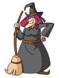 sorcière illustration de vecteur