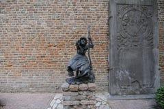 Sorcière de statue Photo stock