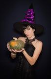 sorcière sexy de costume Images stock