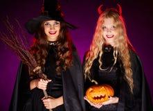 Sorcières de Halloween Image stock