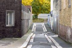 Sordide dans Plymouth Photos libres de droits