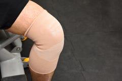 Sore knee Royalty Free Stock Image