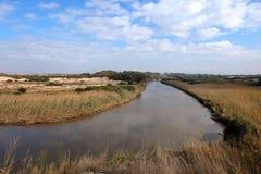Sorek河国家公园在以色列 库存照片