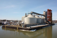 Sorel-Tracy grain silo Stock Image