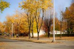 Sorel-Tracy stad på nedgången Arkivbild