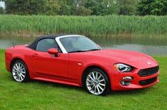 Sorella Car al Mazda Miata Immagine Stock