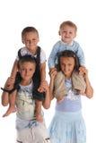Sorella e fratelli 4 fotografie stock libere da diritti