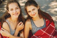 sorelle della sosta Fotografia Stock Libera da Diritti