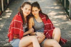 sorelle della sosta Immagini Stock