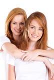 Sorelle gemellare Immagine Stock Libera da Diritti