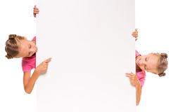 Sorelle gemellare Fotografie Stock Libere da Diritti