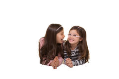 2 sorelle o amici Immagine Stock
