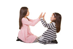 2 sorelle o amici Fotografie Stock