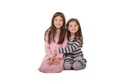 2 sorelle o amici Immagini Stock
