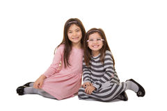 2 sorelle o amici Fotografia Stock