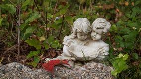 Sorelle statua Fotografie Stock