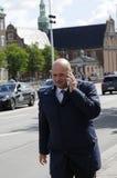 SOREN PEPE POULSEN_CONSERVATIVE LEADER Royalty Free Stock Photo