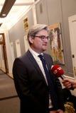 SOREN PIND (Sï ¿ ½ REN PIND) MINISTER FÖR RÄTTVISA Royaltyfri Bild