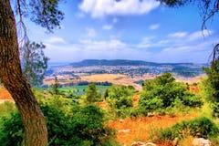 Soreq Avshalom洞旅行在以色列 免版税库存照片