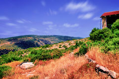 The Soreq Avshalom Cave Travel in Israel.  Royalty Free Stock Images