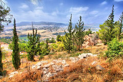 The Soreq Avshalom Cave Travel in Israel. Is very beautiful Stock Image
