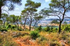 Soreq Avshalom jamy podróż w Izrael Fotografia Royalty Free