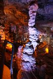 Soreq stalactite cave Stock Photography