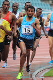 Soresa Fida - 1500 metres run. Soresa Fida from Ethiopia in 1500 metres run held within the 20th annual Josef Odlozil meeting included to the EA premium meeting Stock Photos