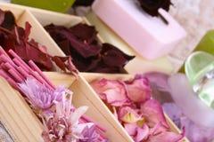Sorgente aromatherapy Fotografia Stock