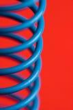 Sorgente blu Fotografia Stock Libera da Diritti