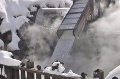 Sorgente calda Giappone di Kusatsu Immagini Stock