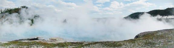 Sorgente calda nella sosta del Yellowstone Immagini Stock