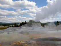 Sorgente calda nella sosta del Yellowstone Fotografia Stock Libera da Diritti
