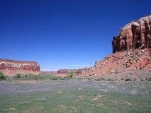 Sorgente in Canyonlands fotografia stock