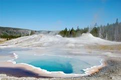 Sorgente del cuore del Yellowstone Fotografie Stock Libere da Diritti