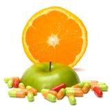 Sorgente delle vitamine Fotografia Stock Libera da Diritti