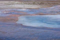 Sorgente di acqua calda Immagini Stock Libere da Diritti