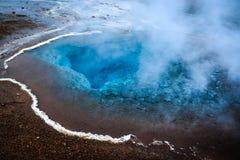 Sorgente di acqua calda dell'Islanda Fotografie Stock