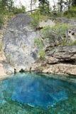 Sorgente di acqua calda della caverna Immagini Stock